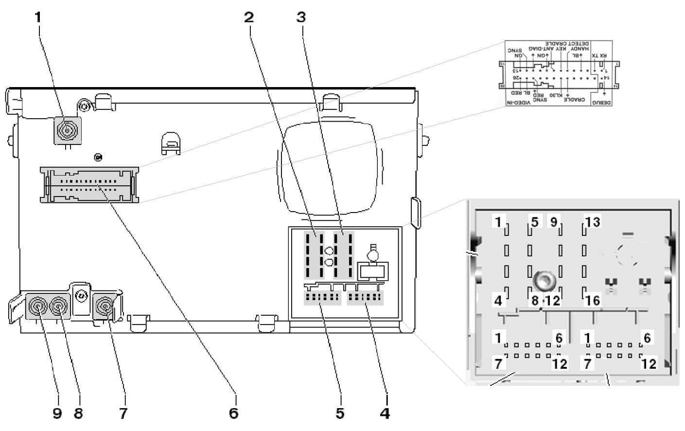 rns 310 wiring diagram